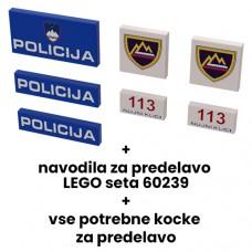 Policija pack in navodila