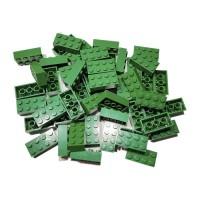 Kocke 2x4 zelene, 50 kos