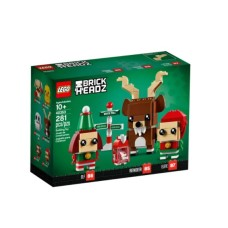 LEGO Brick Headz 40353 Reindeer, Elf and Elfie